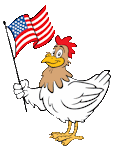 chicken flag